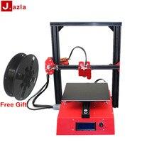 Jazla J1 Алюминий большие смолы 3D принтеры собранный комплект автоматическое выравнивание с карты памяти сломанной Материал обнаружения для