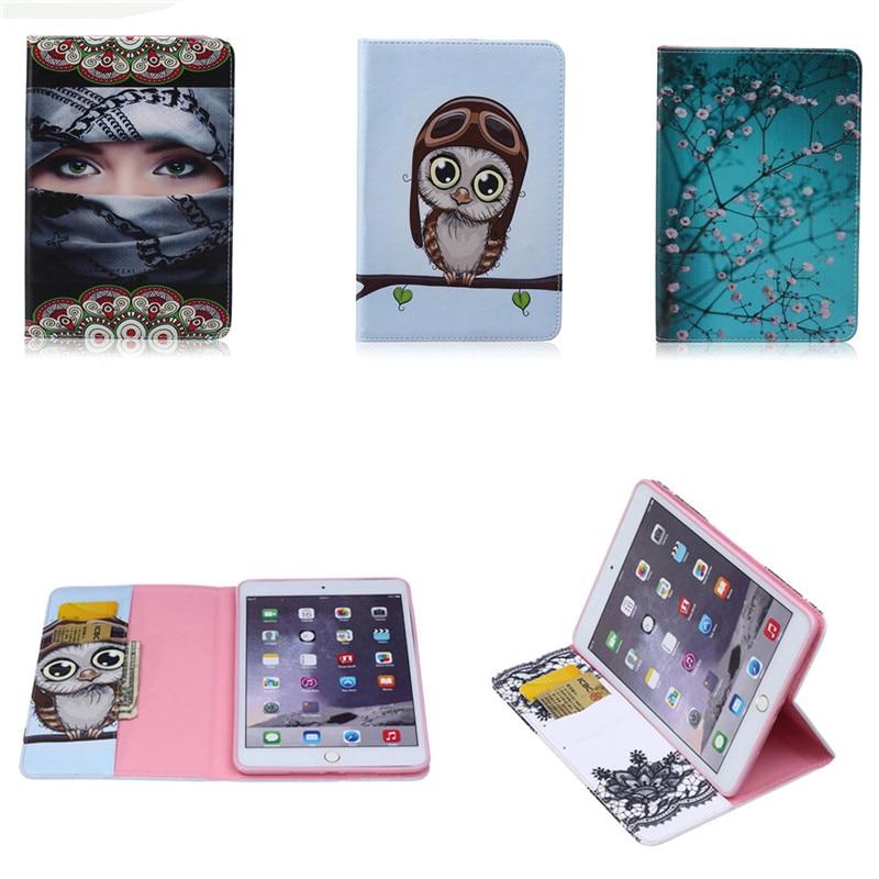 BF Hot sale Cute Case For iPad mini 1/2 mini 3 Cover Stand Tablet Designer Fashion PU Leather Cover For Apple iPad mini3 Case
