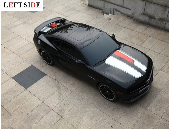 LEFT SIDE Car Stickers High Grade Body Stickers Grace Simple Sport - Simple sports car