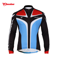 Tasdan Cycling Wear Clothes Jersey Long Sleeve Bike Tops Shirt Mens Clothing Sport