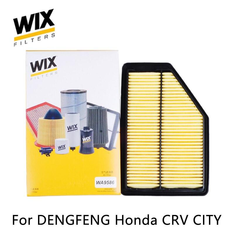 WiX car air Filter WA9586 for DENGFENG Honda CRV 2.0L CITY 1.8L auto part