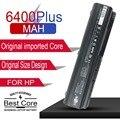10 8 V 6Cell 6400mAh аккумулятор для ноутбука HP G5 G6 G7 HDX16 PAVILION DV4 DV5 DV6 COMPAQ CQ40 CQ45 CQ50 CQ60 CQ70 EV06055 HSTNN-