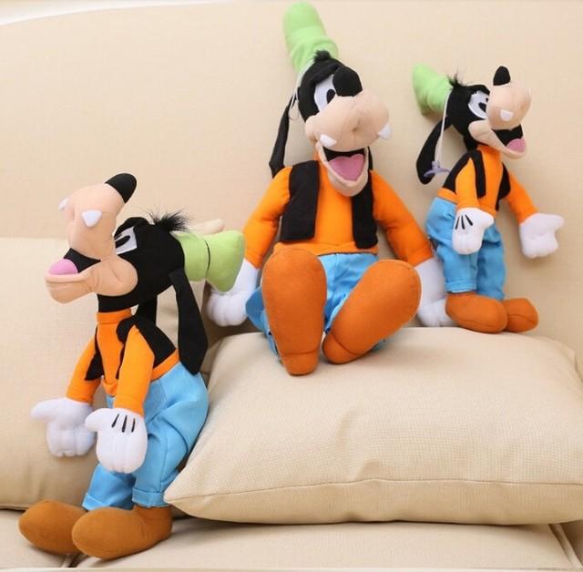 Śliczne 30cm Goofy pies pluszowe wypełnione zabawki zwierzątka dla dzieci prezent urodzinowy