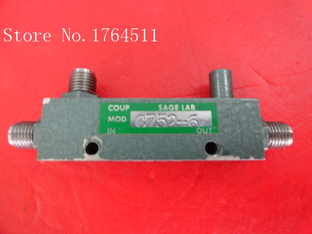 [BELLA] SAGE LABORATORIES C752-6 1-2GHz 6dB Supply Coupler SMA