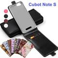 Clássico luxo avançado top de couro colorido flip couro case para cubot nota S Phone Cases Cubra Com Slot Para Cartão Em Estoque Notas