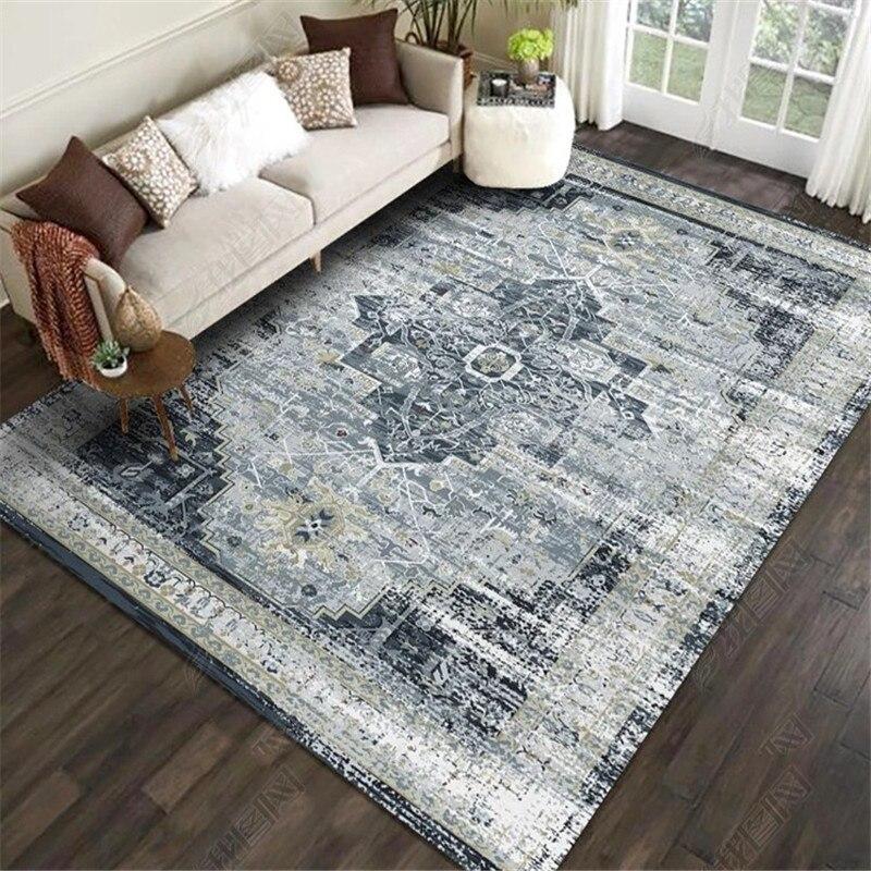 Persian Ethnic Vintage Retro Carpets For Living Room 3d Print Anti Slip Kilim Bedroom Rugs Washable Decorative Area Rug Bohemian