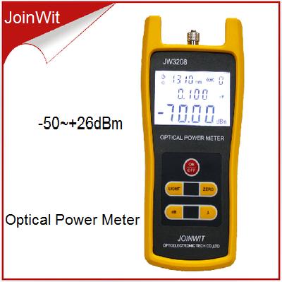 JW3208C-50 ~ 26dBm Fibra Medidor de Potencia Óptica Tester