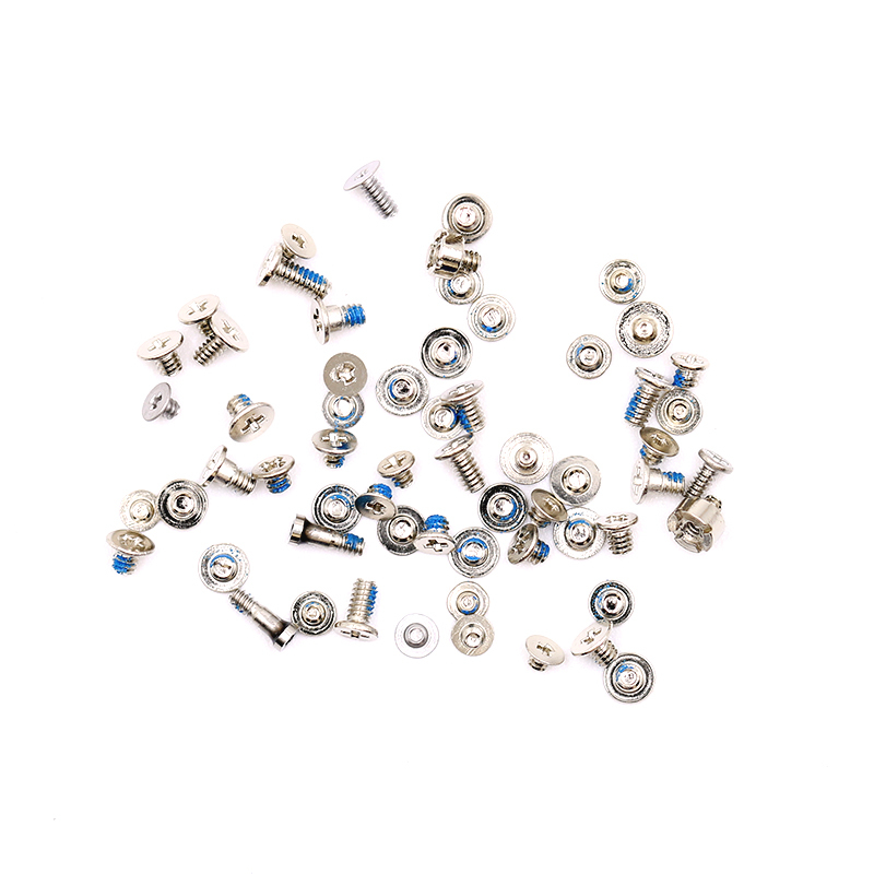 Full Screw Set for iPhone 4S 5 5S SE 6 Repair Bolt Complete Inner Kit Replacement Repair Parts for iphone with 2 Bottom Screws