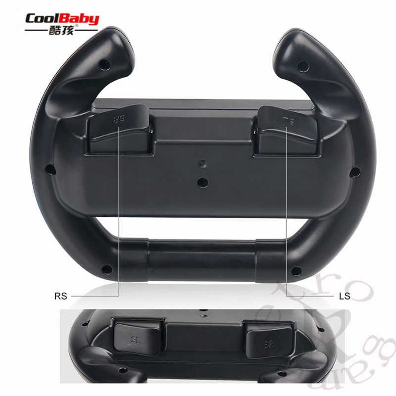 for nintend Switch Joy-Con Small Handle Steering Wheel game component video game controller TNS-852 Enhanced feel 5