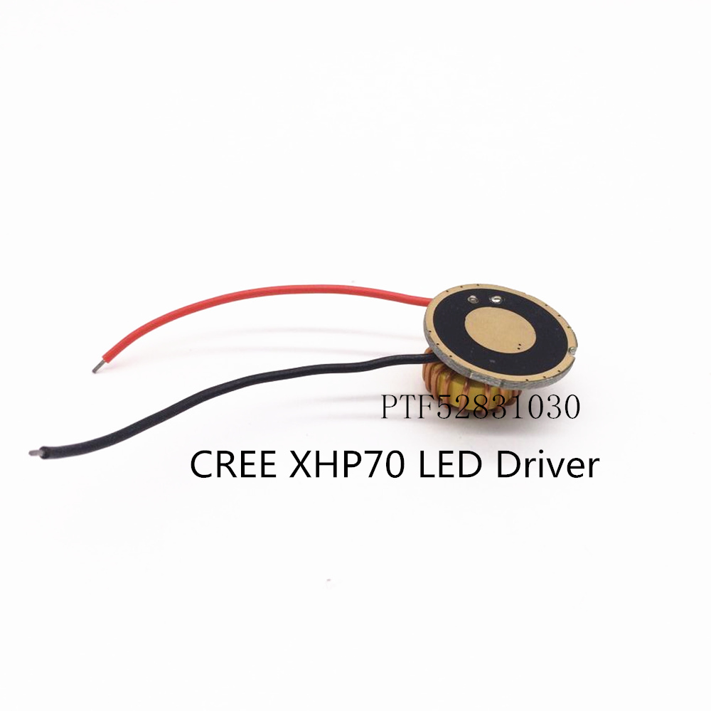 Cree XLamp XHP70 <font><b>6V</b></font> 1Model 5Model <font><b>LED</b></font> <font><b>Driver</b></font> 26MM DC6V-15V Input 4500mA Output For XHP70 <font><b>LED</b></font> Light Lamp image