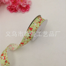 DIY Digital Printing Ribbon Clothing Material Accessories Sublimation Line With Needlework Live Christmas Series Gift