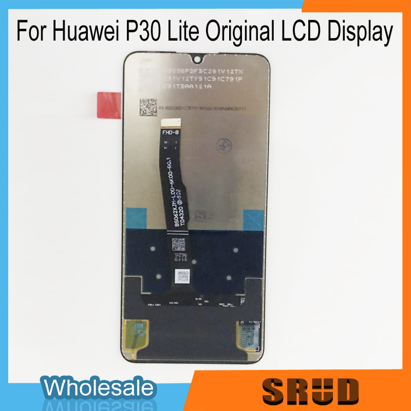P30 Lite Original 6.15 Inch LCD Display Touch Screen Digitizer Assembly for Huawei P30 Lite/ Nova 4E LCD Display P30 Lite + Tool-in Phone Screen Protectors from Cellphones & Telecommunications    1