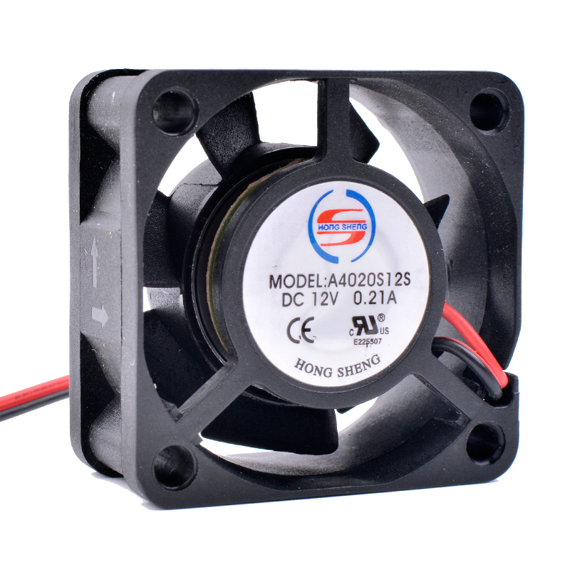 COOLING REVOLUTION A4020S12S 4cm 4020 40mm fan 12V 0.21A 2-Pin 7 Blade Cooler Brushless Mini Cooling Fan 4020 sunon dhl free shipping 4020 gm1204pkvx 8a 4cm 12v 2 4w 2wire server cooling fan