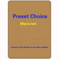 56pcs/set best magical, Black core Proxy paper cards, MG lion recommend preset deck,dual lands,Power9,Fetch Lands,Shock Lands