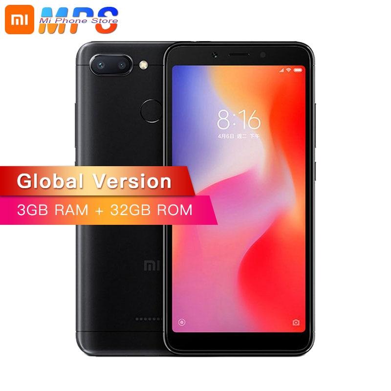 Global Version Xiaomi Redmi 6 3GB 32GB Mobile Phone P22 Octa Core 5 45 18 9