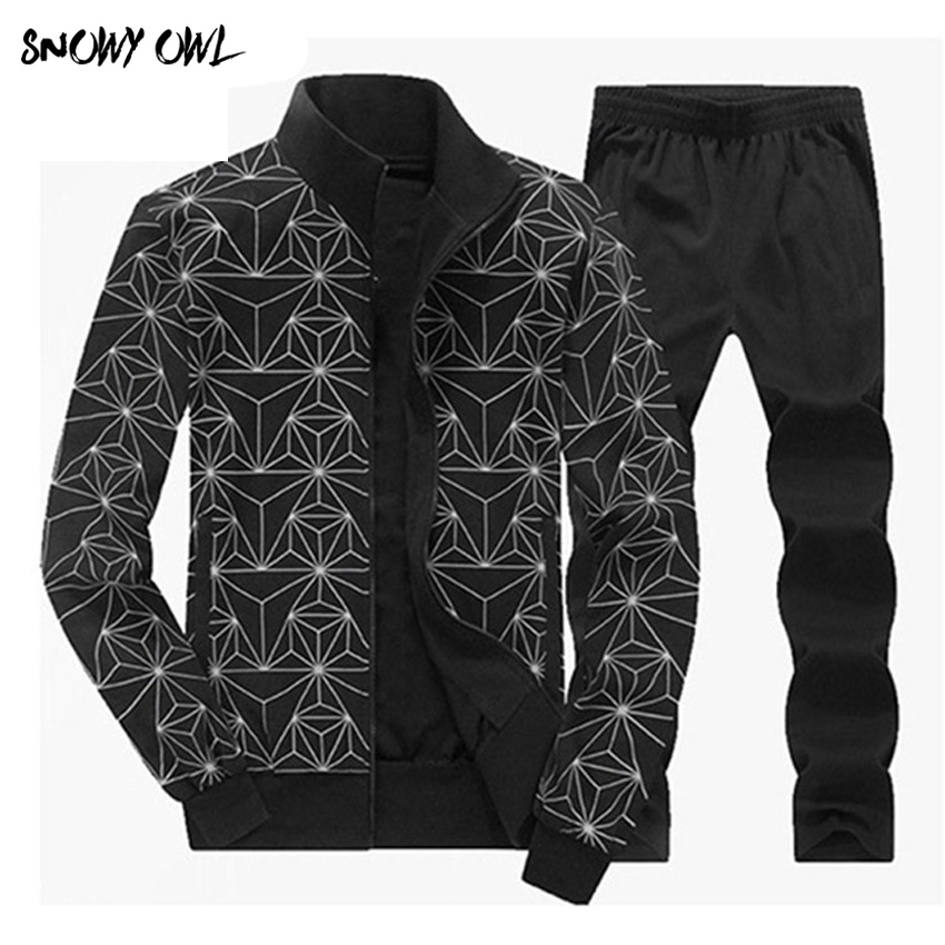 Big Size 5XL 6XL 7XL 8XL Men Sports Suits Fitness Sportswear Keep Warm Gym Clothing Knitted
