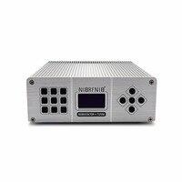 Оптом и в розницу новый продукт T25M 25 Вт серебро Цвет FM стерео PLL передатчик для маленькой деревне вещания
