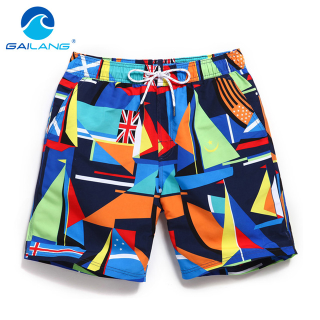 6545eb2a2a Gailang Brand New mens beach board shorts quick dry fashion leisure casual  active shorts sea board boardshorts big size XXXL