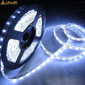 5 м 300 светодиодные гибкие полосы света 5050 SMD 12V Водонепроницаемые супер яркие декоративные автомобильные огни DIY