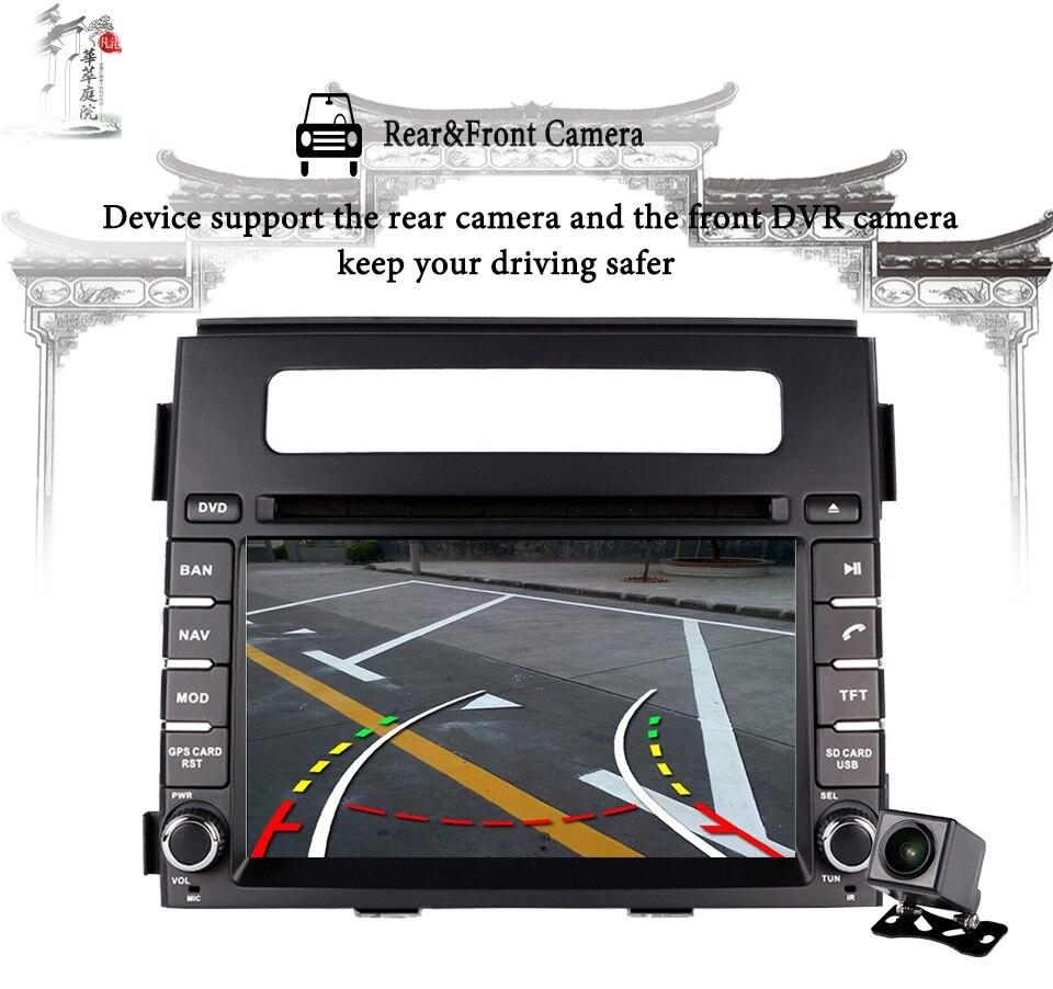 Per Kia Soul 2011 2013 HD 1024*600 Car multimedia navigazione gps audio video a/v dvd sistema di intrattenimento con il migliore android 9.0 - 2