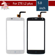 5.0 For ZTE Blade L2 plus L370 C370 LCD Touch Screen Digitizer Sensor Outer Glass Lens Panel Replacement 4 0 for zte blade l110 lcd touch screen digitizer sensor outer glass lens panel replacement
