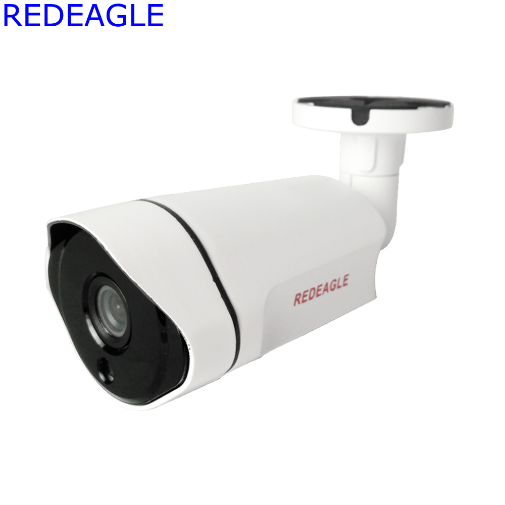 REDEAGLE 2MP AHD Camera 1080P CCTV IR Cut Filter Outdoor Waterproof Night Vision Bullet Security Cameras Ultra Low Illumination 1 0mp ahd 720p cctv camera security outdoor ip66 waterproof bullet night vision ir video surveillance cameras with bracket