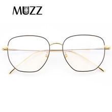 Pure Titanium Eyeglasses Frame Ultra light 7g Men Retro Round Optical Glasses High Quality Eye for Spectacle