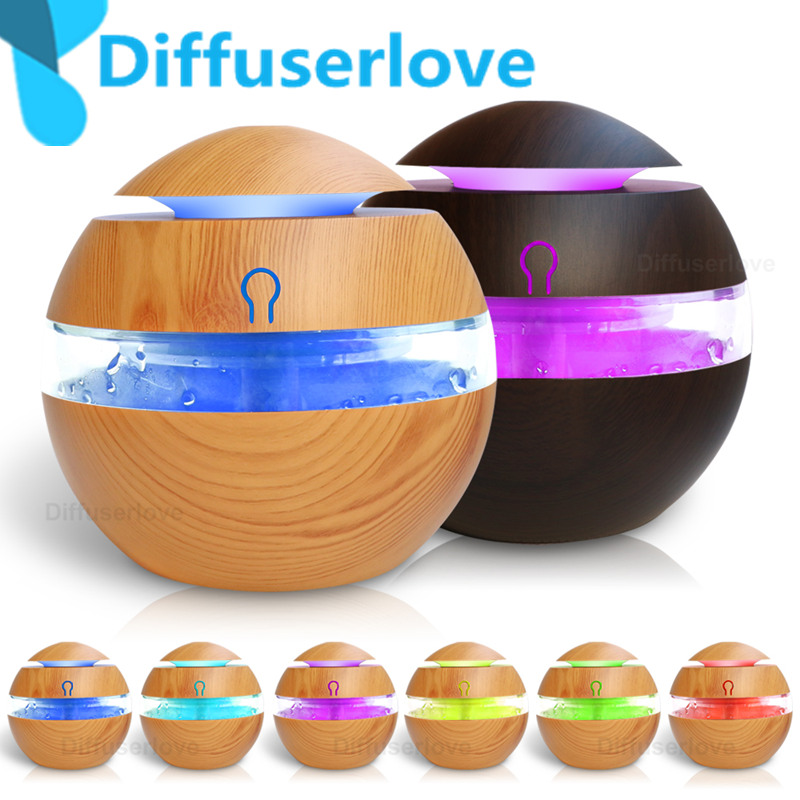 Diffuserlove 300ml Aroma Essential Oil Diffuser Ultrasonic Cool Mist Humidifier 7 Color Change LED Night light for Office HomeDiffuserlove 300ml Aroma Essential Oil Diffuser Ultrasonic Cool Mist Humidifier 7 Color Change LED Night light for Office Home