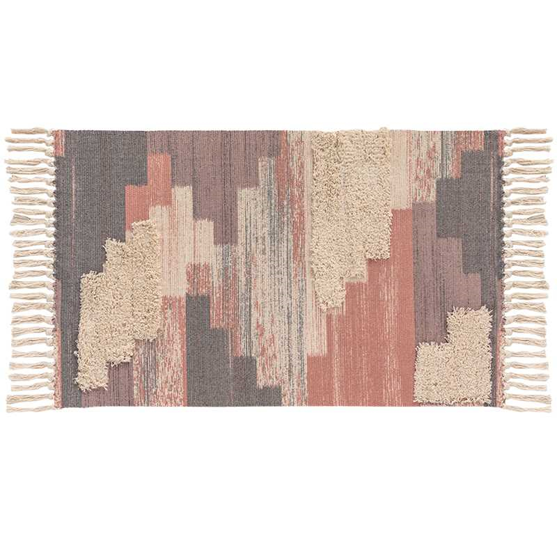 Nordic Style Soft Tassel Carpets For Living Room Bedroom Soft Rugs Cotton Healthy Nature Home Carpet Floor Door Mat Area Rugs