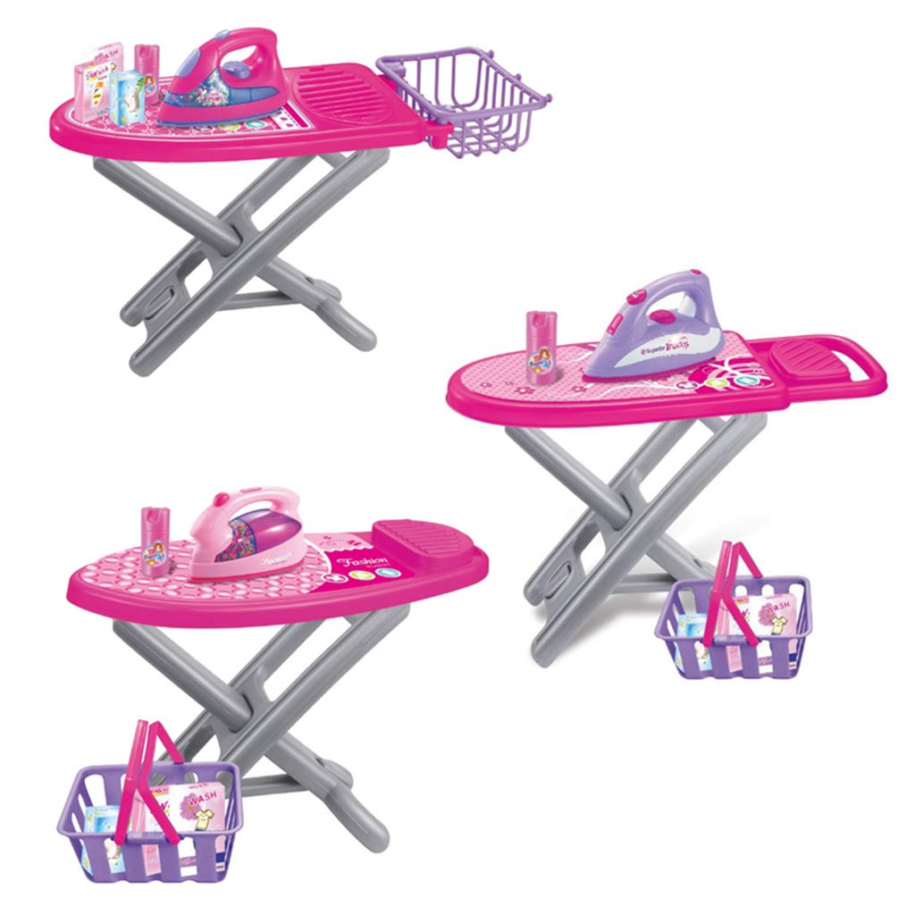 Simulation Household Appliance Ironing Board Set Pretend Play Role Playing Game Educational Toys Gift For Children Kids Toddler