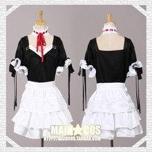 Neo genesis evangelion eva asuka langley soryu cosplay lolita dress traje gótico cos criada vestidos de fiesta de disfraces para halloween