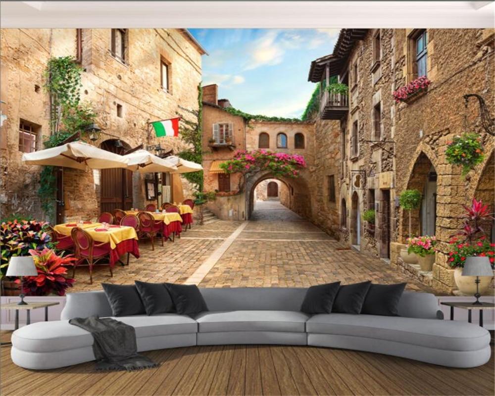Beibehang Custom 3D Wallpaper TV Sofa Background Wallpaper ...