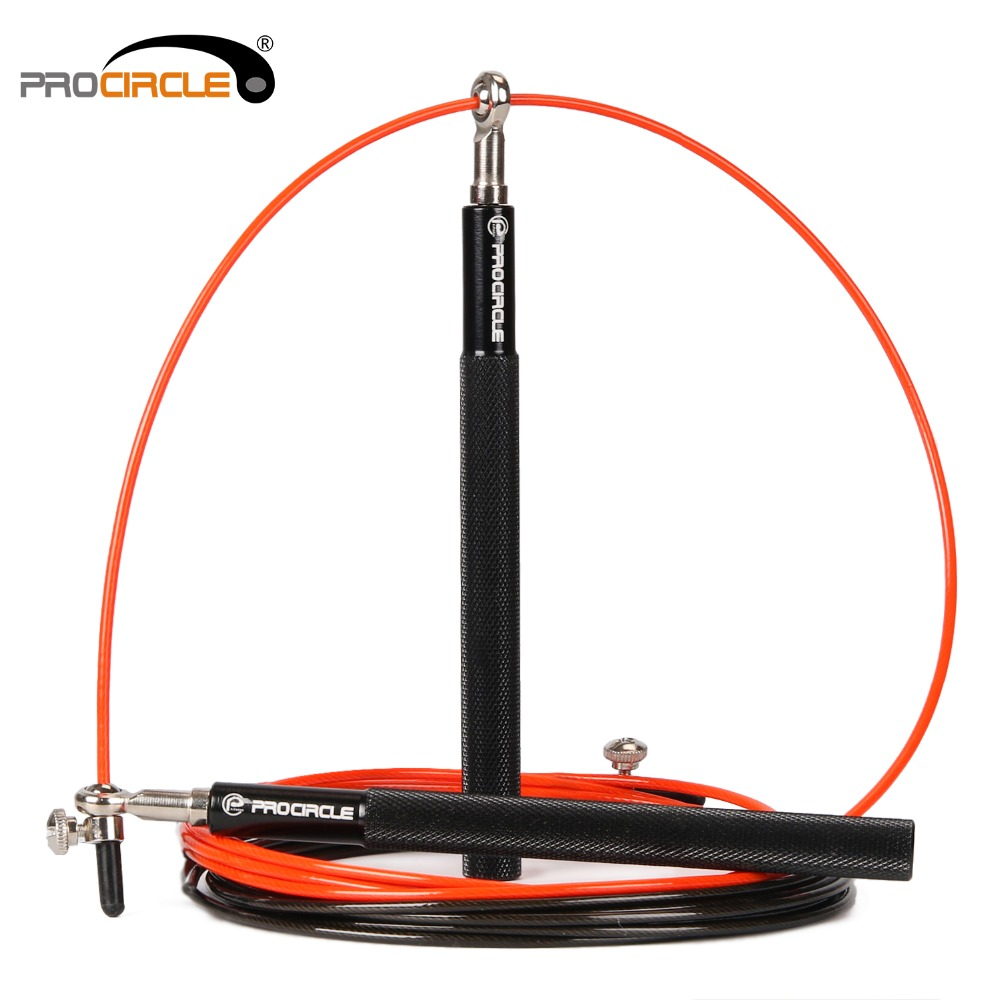 ProCircle Springseil Ultra-geschwindigkeit Kugellager Springseil Stahldraht springen seile für Boxen MMA Gym Fitness Training