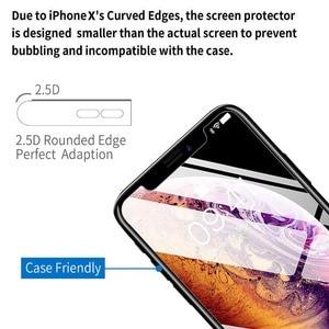 Image 4 - ZRSE [3 Pack] Verre Trempé Protecteur Décran En Verre pour iPhone X iPhone XS iPhone XS Max XR 11 Pro Max 5 6 S 7 8 Plus