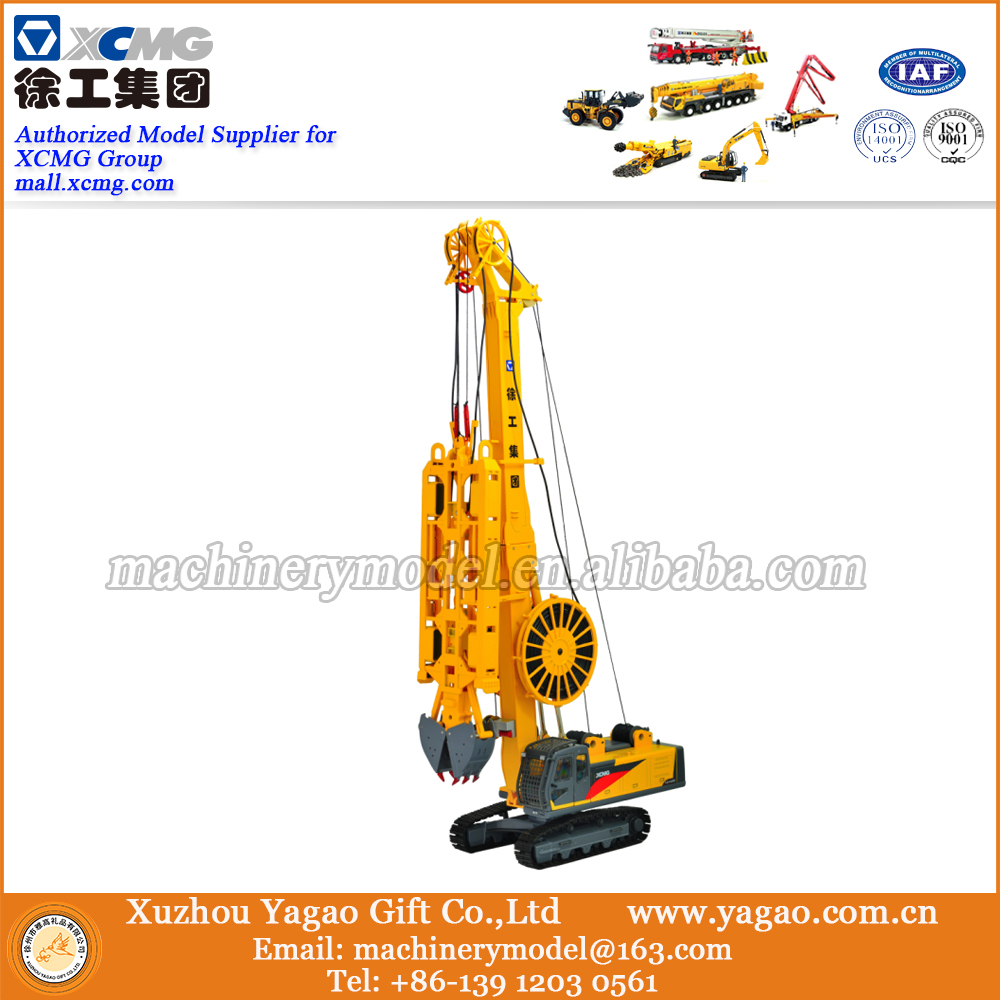 1:35 Scale Model, Diecast Model, Construction Model, XCMG Hydraulic Diaphragm Wall Grap, Replica rare xcmg xde360 super large mine dump truck 1 50 scale diecast model