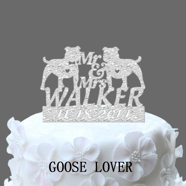 Funny wedding cake topper unique mr and mrs personalize name date funny wedding cake topper unique mr and mrs personalize name date wedding cake topper junglespirit Images
