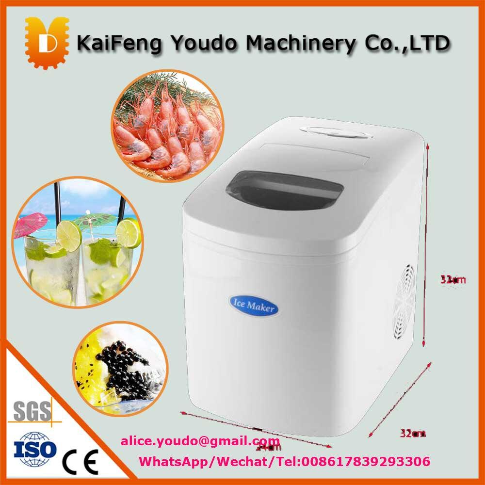 UDZB-10 small home use ice maker /mini ice making machine dumpling maker manual hand oeprate home use