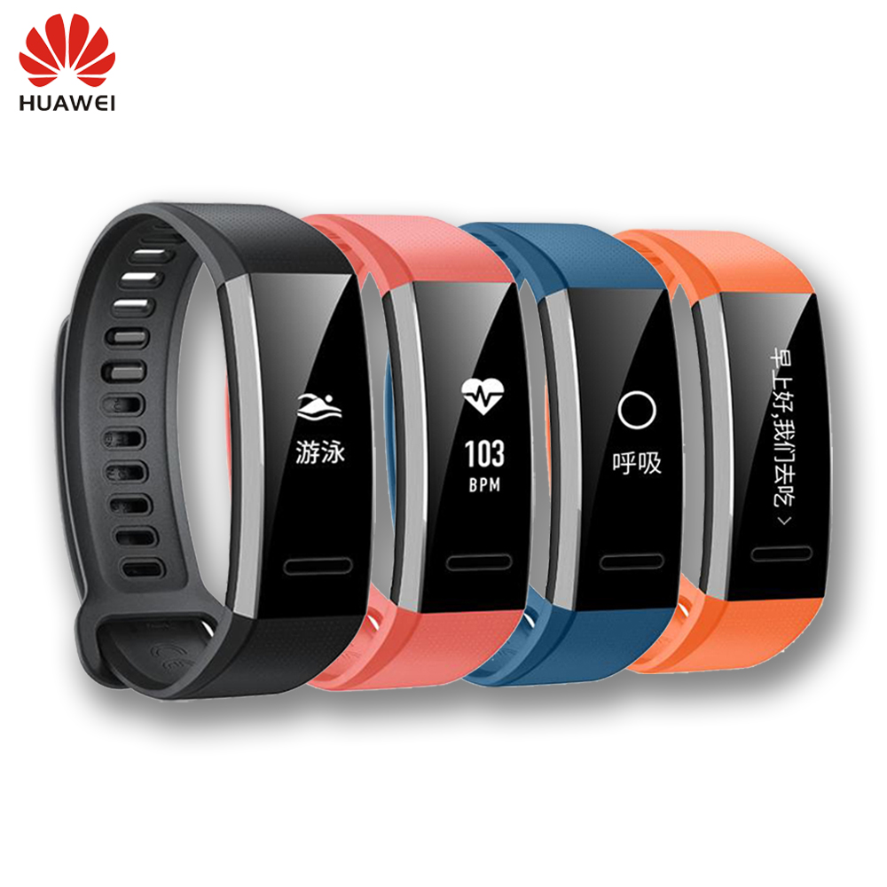 New Original Huawei Sport Band 2 pro B29 with GPS for Swimming Wristband with Heart Rate