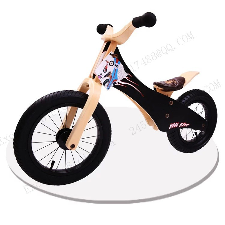 b22-Baby two wheels Wood Balance Bike for 2-6 Years age Bicicleta Infantil Balance Bike Kid's bicycle Common Childen's Cycling
