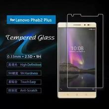 9H Toughened Glass Screen Protector For Lenovo Phab 2 Plus / Phab2 2+ PB2-670M 6.4''Tempered Film