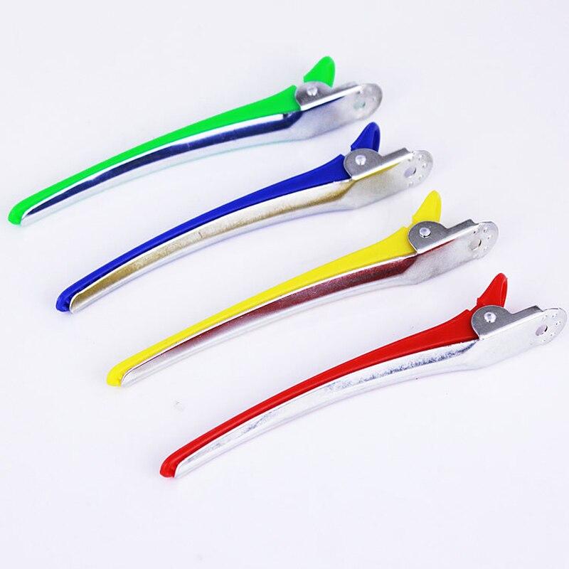10Pcs Professional Hair Clips Hairpin Hairclips Hair Clamps Grip Barber Clip Barrette Hair Cutting Clip Salon Accessories
