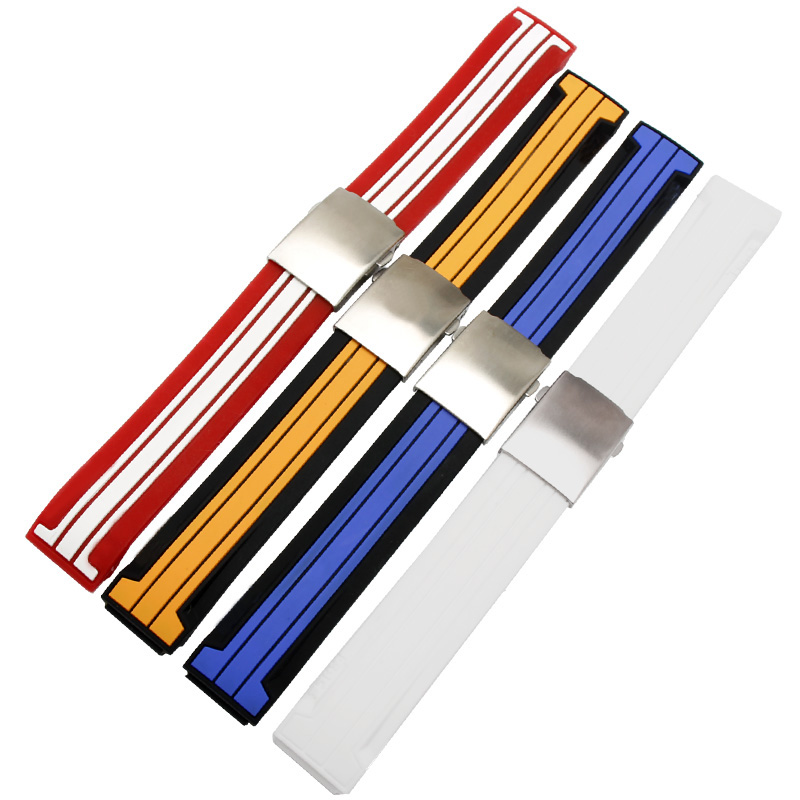 Watchband Silicone Rubber Bands for T048 T-Race T-Sports Watches Replace Wristwatch Band Sports Watch Strap T048.417+Tool рюкзак picard 9809 113 023 ozean page 7