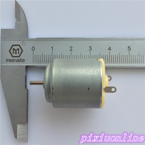 1pcs K137Y 3-6V Micro R260 DC Motor For DIY Toy Four-wheel Scientific Experiments High Quality On Sale Islamabad