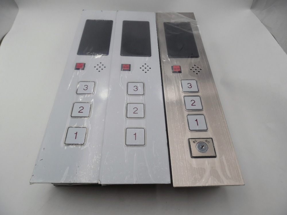 D24v 3 этажа зал вызова Дисплей Plate для Лифт