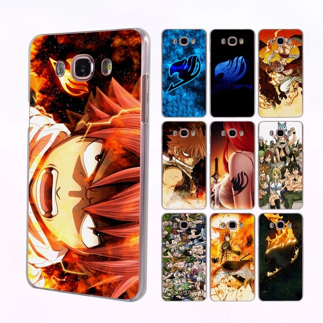 Fairy Tail Logo Design Hard Transparent Case for Samsung Galaxy
