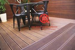 Umweltfreundliche Bambus Terrassendielen, fließender Decking Ideen