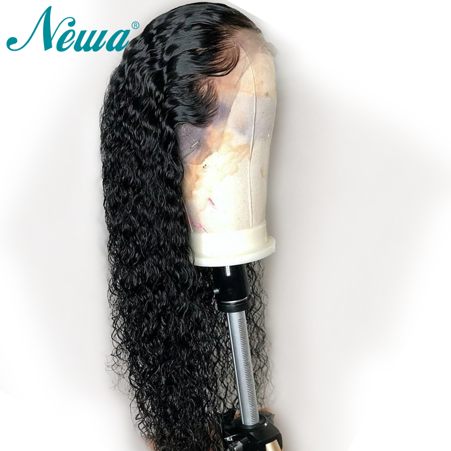 Newa Hair Water Wave Full Lace Human Hair Wigs Pre Plucked With Baby Hair Brazilian Full Lace Wigs For Black Woman Remy Hair Wig