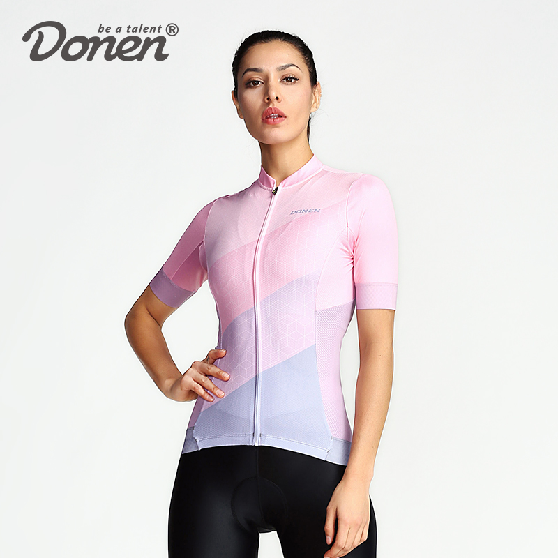 DONEN NEW Anti-UV Women Cycling Jersey Long Sleeve Autumn Women MTB Bike Clothes Wear Cycling Bicycle Clothing Ropa CiclismoDONEN NEW Anti-UV Women Cycling Jersey Long Sleeve Autumn Women MTB Bike Clothes Wear Cycling Bicycle Clothing Ropa Ciclismo