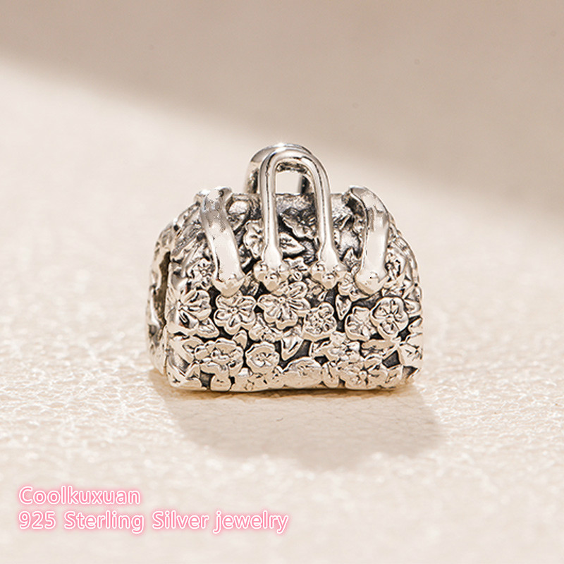 110dbfd7b 2018 winter Original 100% 925 Sterling Silver Mary Poppins Bag Charm beads  Fit Pandora Charms Bracelet Jewelry Making-in Beads from Jewelry &  Accessories on ...