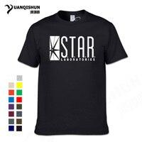 2018 модные Star Laboratories уличная хлопковая футболка для мужчин футболки Футболки Лидирующий бренд Тонкий Летняя одежда в стиле «хип-хоп» pp блины...
